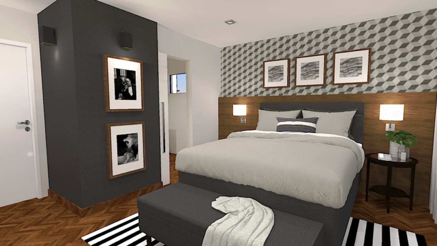 Interior design service for bedrooms