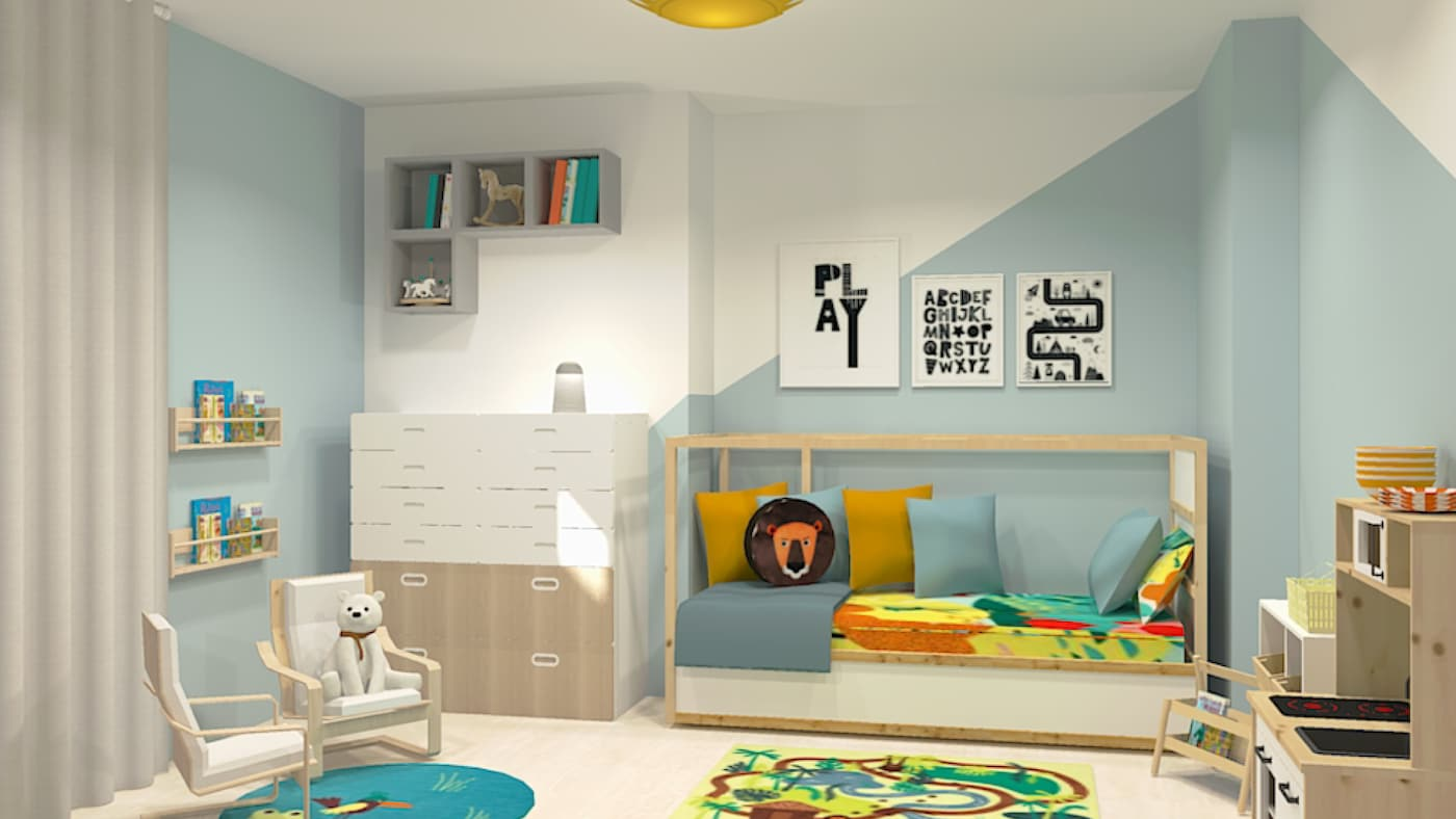 Interior Design service for children's bedrooms