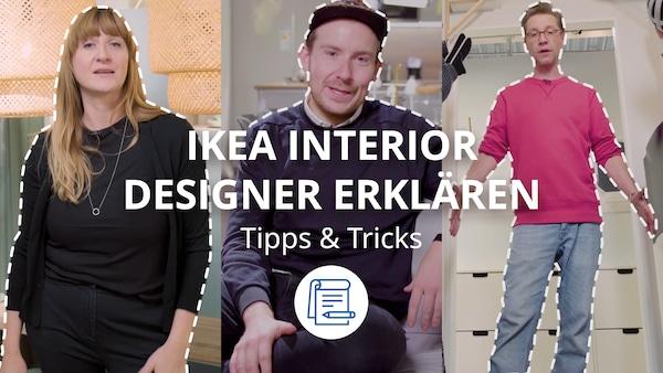 Interior Designer geben Einrichtungstipps