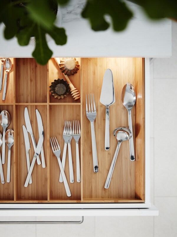 Interiores para armarios de cocinas