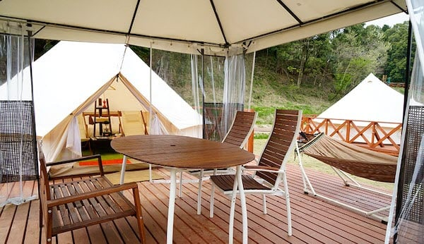 Introducing the glamping business using IKEA products