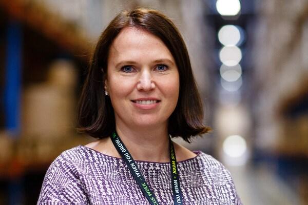 Irina Sukhareva Distribution Centre Manager og ambassadør for mangfold og inkludering i IKEA Russland.
