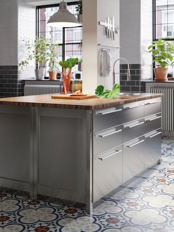 Cucina Varsta Stile Industriale E Per Grandi Chef Ikea It