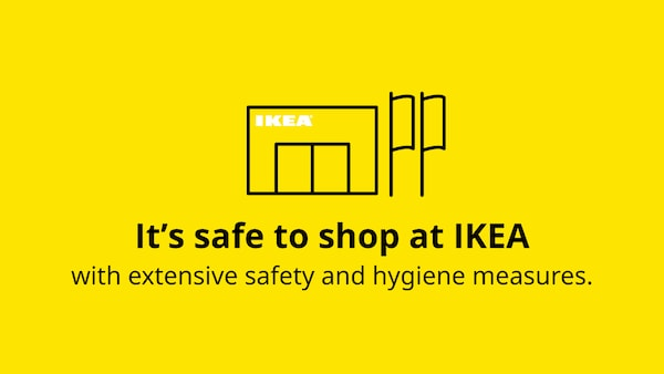 It's safe to shop at IKEA.