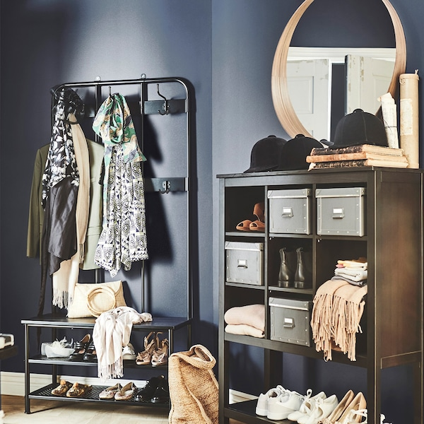 It's the place full of things you need and don't need, and the place where you can (almost) always find your keys. The recipe for success? Clever ways of storing, organising, and – above all – displaying.