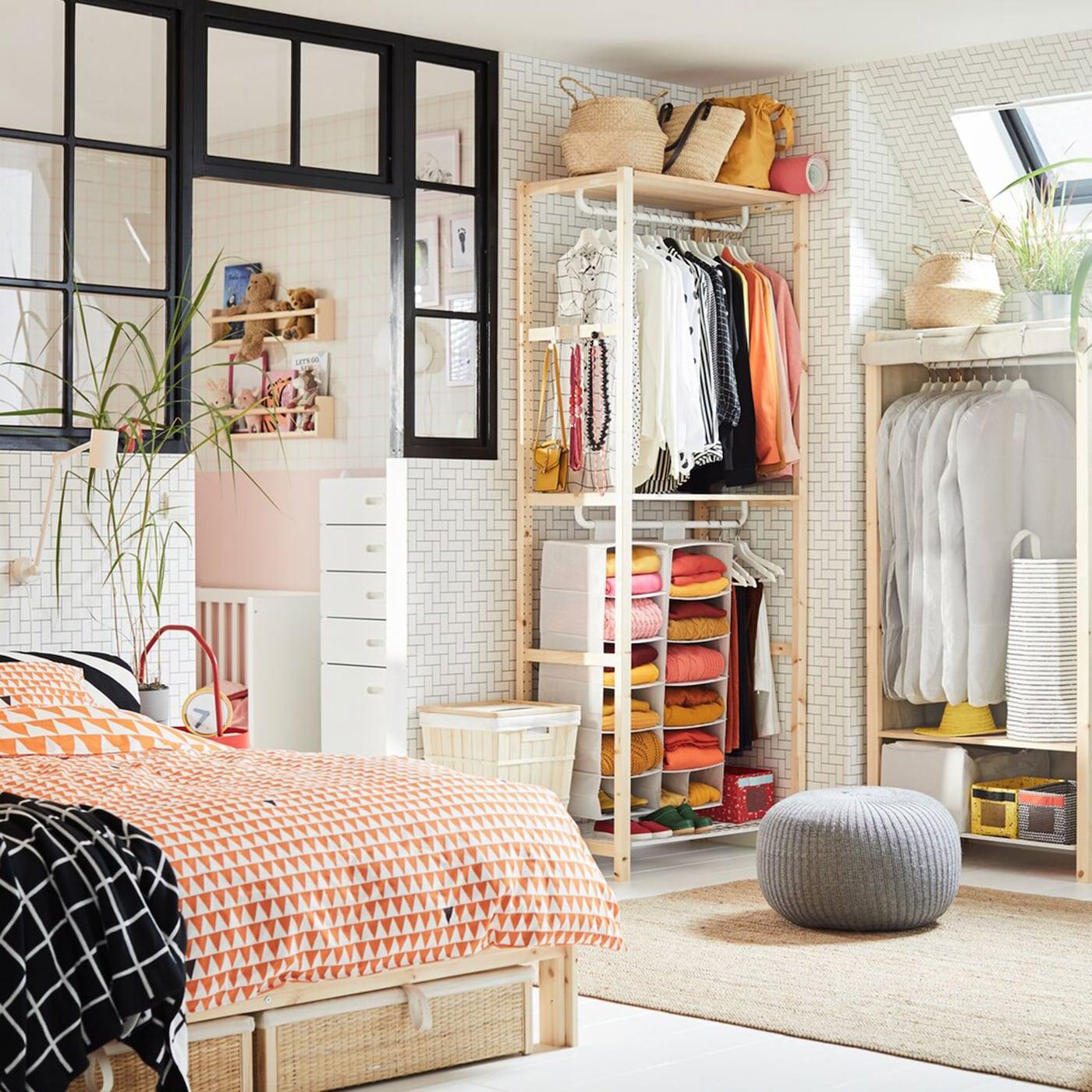 bedroom storage made easy  ikea