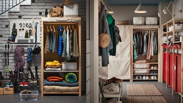 IVAR Regalsystem für dein Vorzimmer
