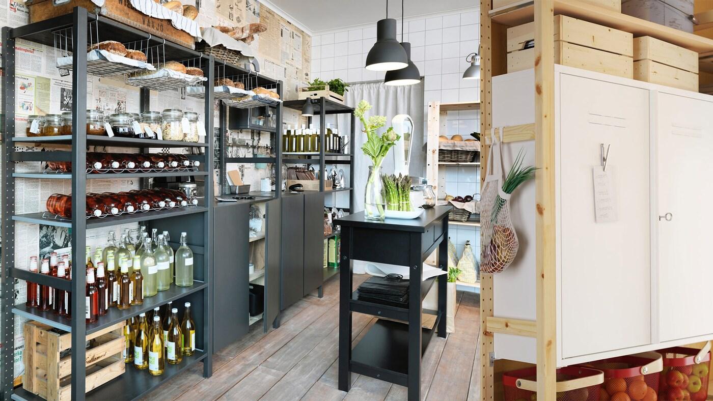 Stelle dir dein IVAR Regalsystem selbst zusammen IKEA