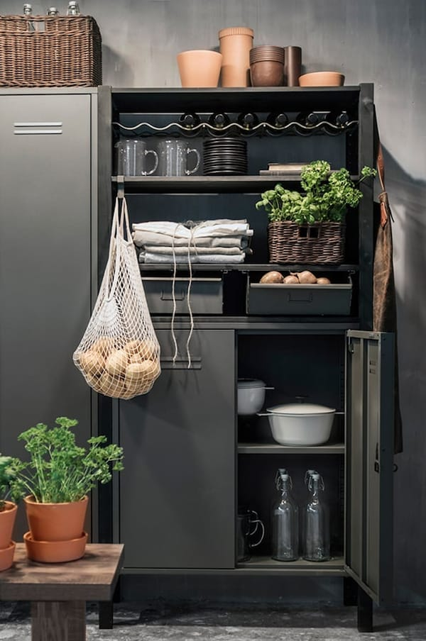 IVAR shelving unit — locker cabinet — tips — IKEA interior inspiration