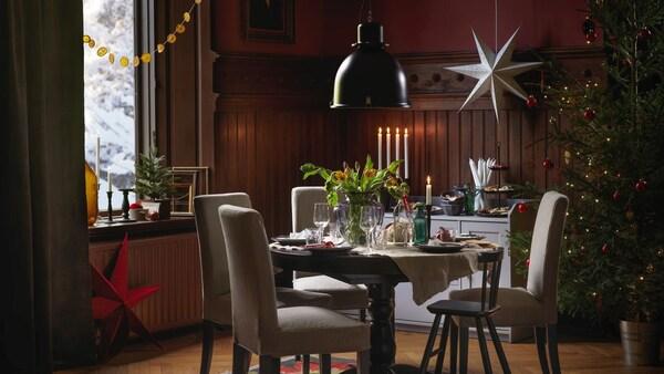 Jak udekorować stół na święta?
