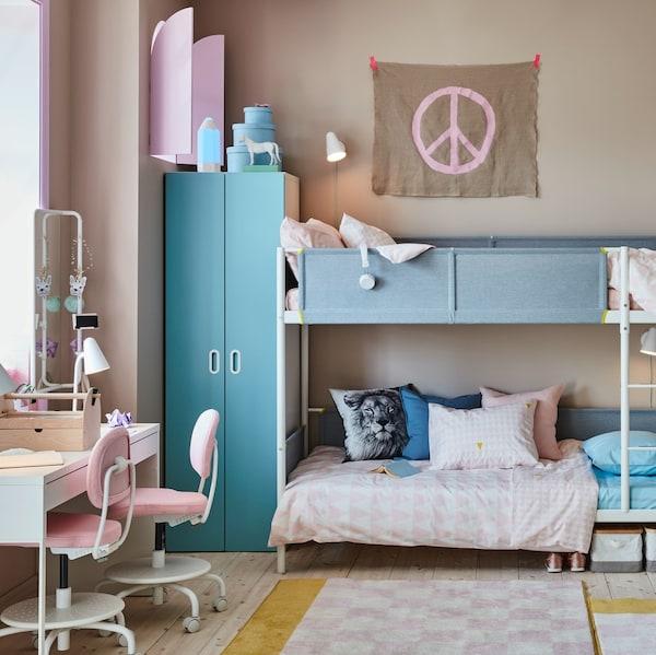 Jak urządzić pokój dla dwóch nastolatków?