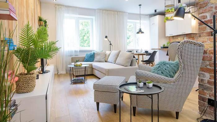 Jak z dwupokojowego mieszkania zrobić trzypokojowe z dodatkowym miejscem na pracę?