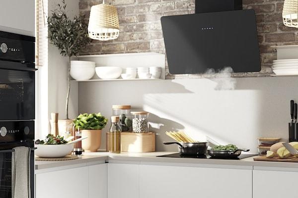 Jak zaaranżować ceglaną ścianę kuchni?