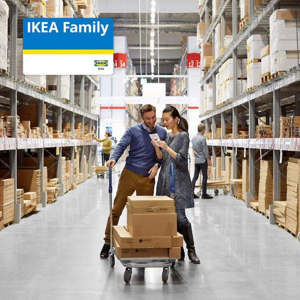 Join IKEA Family today for FREE and get exclusive rewards and surprises!