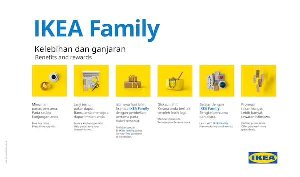 Join our IKEA Family club for free