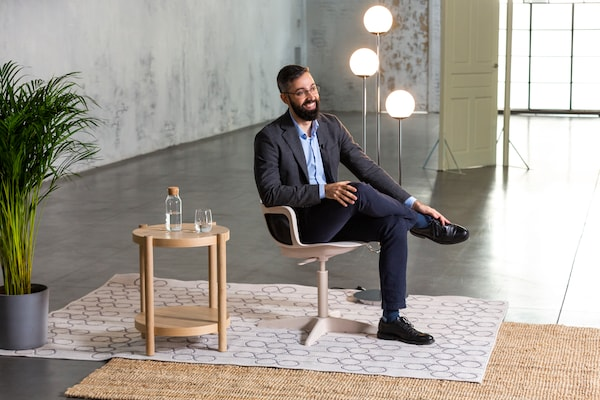 Juan Luis Higuera Trujillo, experto en neuroarquitectura en una entrevista para IKEA