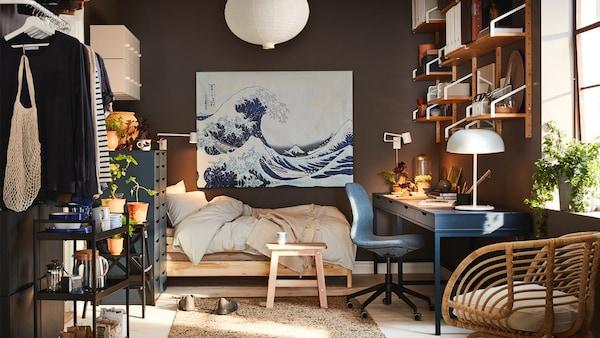 Jugendzimmer mit IKEA Möbel