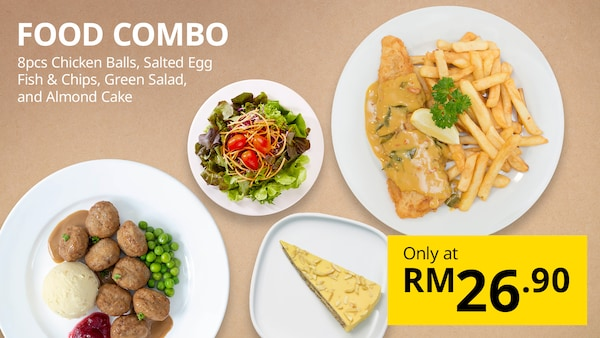 July Sales Food Combo only at RM26.90