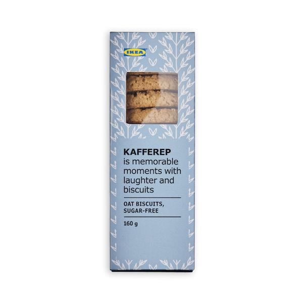 KAFFEREP Oat biscuits sugar free 160g