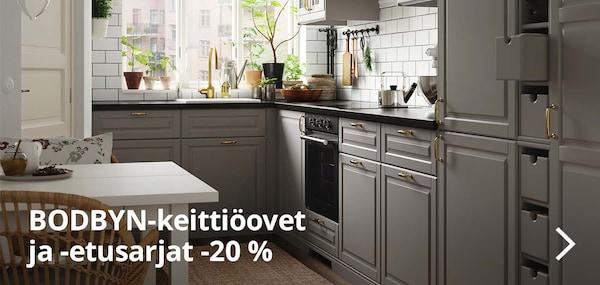 Kaikki BODBYN-keittiökaapin ovet -20%