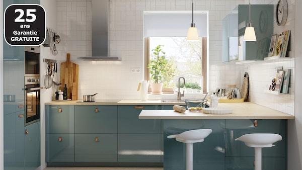 Page Finition Cuisine Kallarp Gris Turquoise Ikea