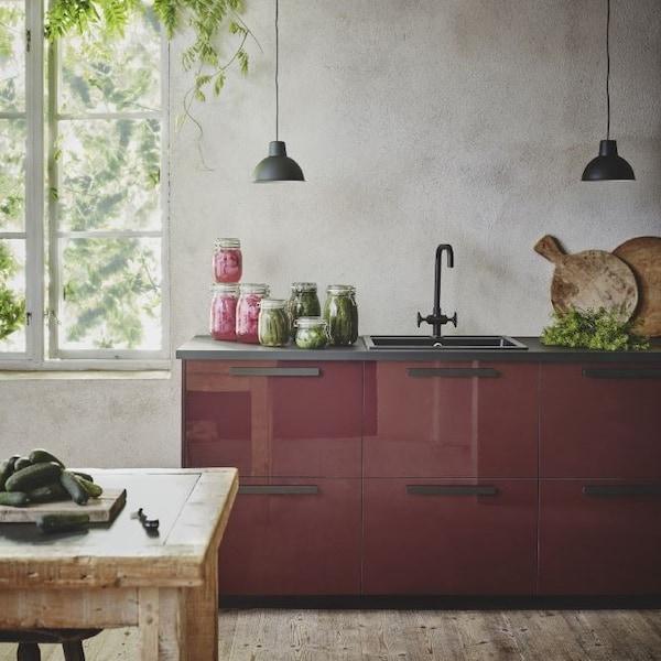 KALLARP red kitchen