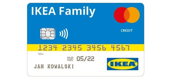 Karta kredytowa IKEA Family