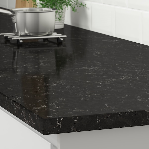KASKER Black marble effect Priced from $199/lin. ft.