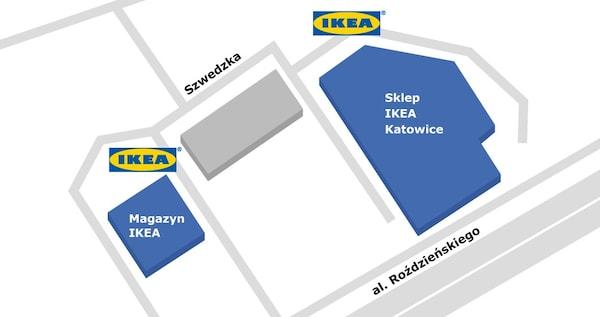 Katowice - Punkt Odbioru Zamówień w sklepie IKEA