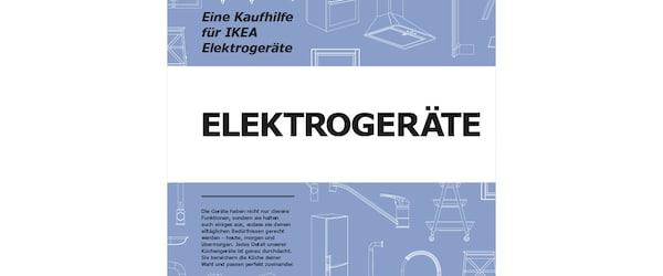 Kaufhilfe für Elektrogerate