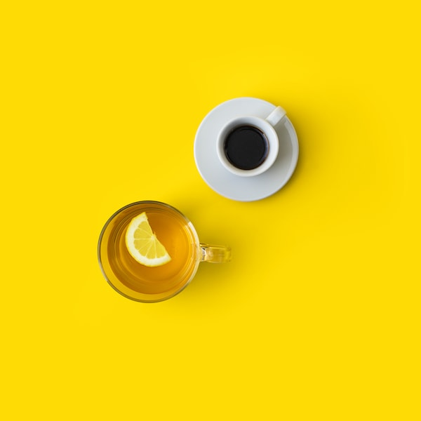 Káva nebo čaj zdarma.