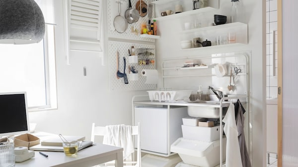 keuken studentenkamer ikea 2050x1150