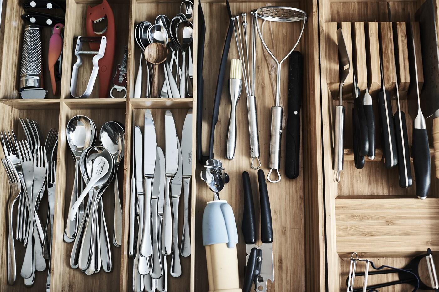 Keukenkastjes inrichten - binnenkijker - tips - IKEA wooninspiratie