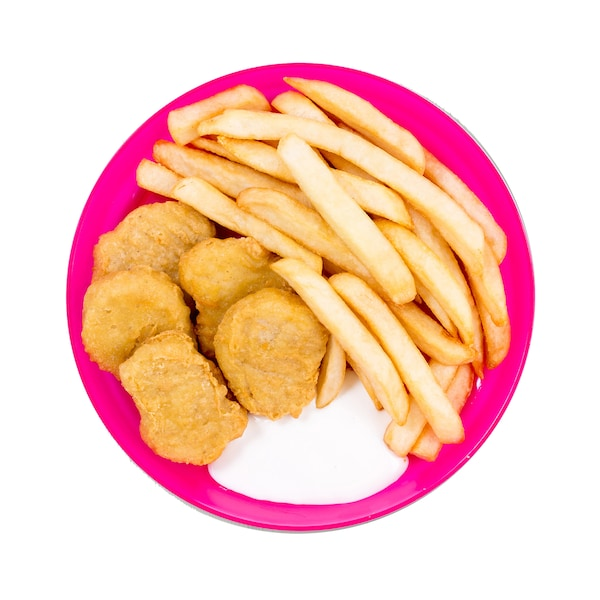 Kids Chicken Nuggets and Fries