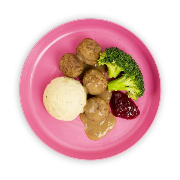 Kids Meal - 4pcs meatball with drink