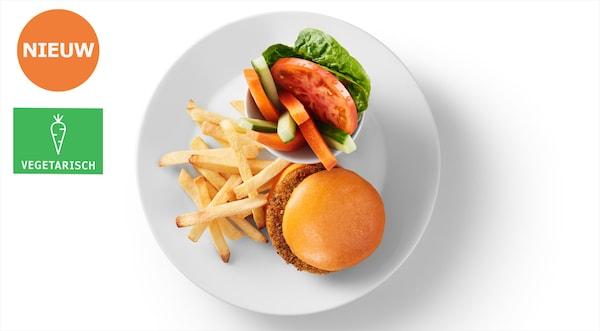 kid's plant based burger