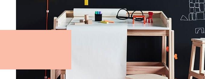 Kinderbureau - Tienerbureau - IKEA wooninspiratie