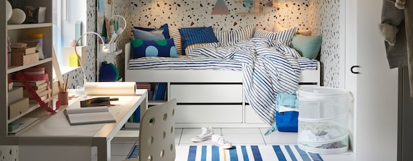 Schommel Zitzak Ikea.Kinderen Richt De Kinderkamer In Met Kindermeubels Ikea