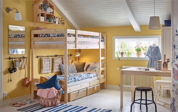 Ikea Bed Kinder.Stijlen Voor De Kinderkamer Ikea