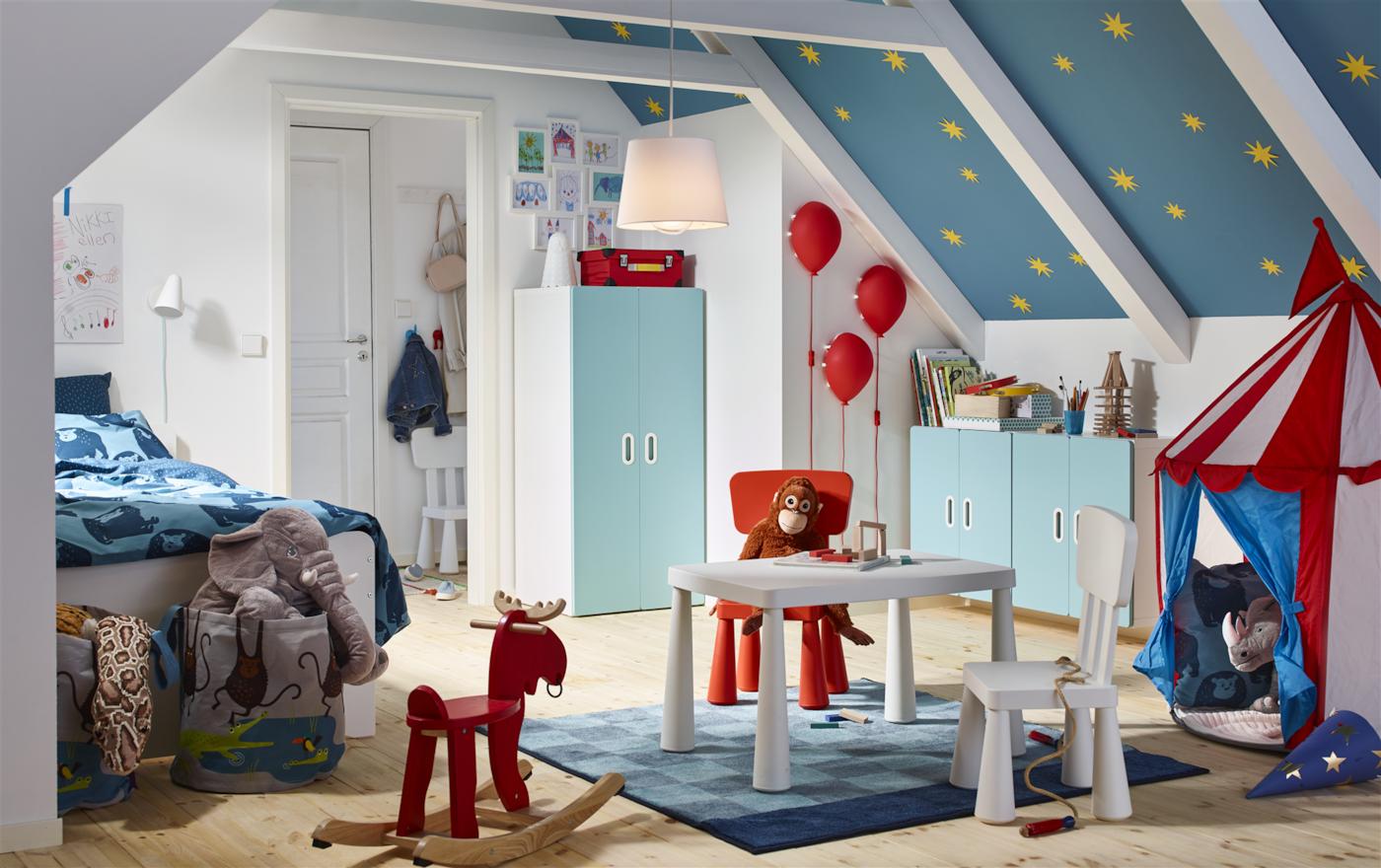 Elegant Kinderzimmer. Kinderzimmer IKEA