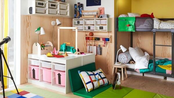 aufbewahrung kinderzimmer ikea