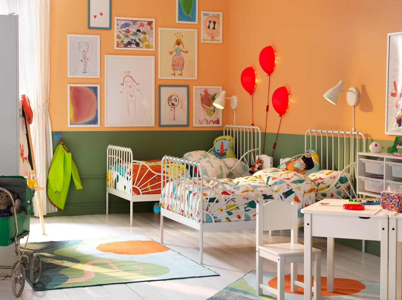 Ein kinderzimmer f r sonnige gem ter ikea ikea - Wandaufbewahrung kinderzimmer ...