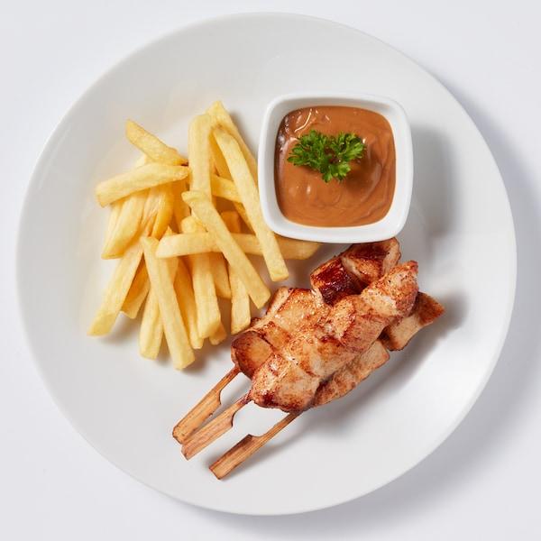 kipsate met friet restaurant ikea