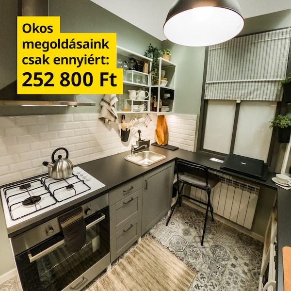 Kis konyha, kompromisszumok nélkül - 252 800 Ft.