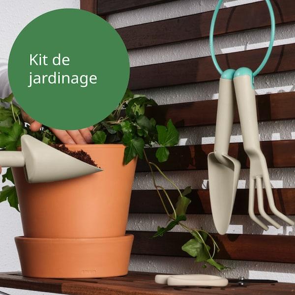 kit de jardinage