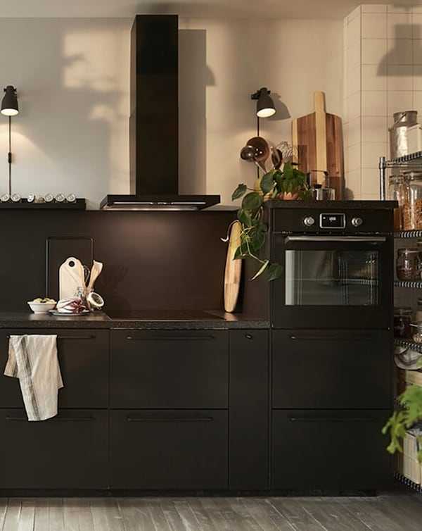 kitchen appliances-extractor hood-IKEA inspiration