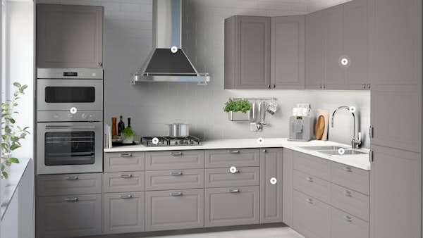 Galley Kitchen Inspiration Small Kitchen Ideas Ikea