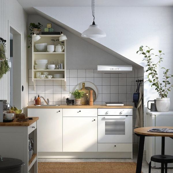 Kitchinette KNOXHULT blanc