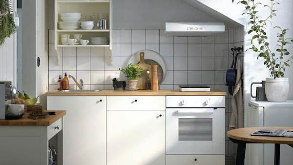 Kitchinette KNOXHULT cuisine blanche