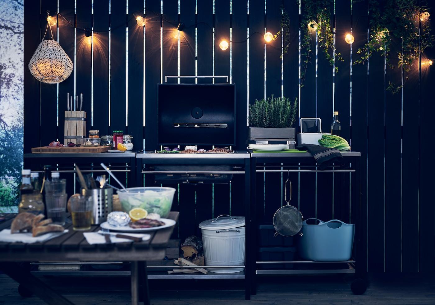 Drömmen om ett eget utekök IKEA